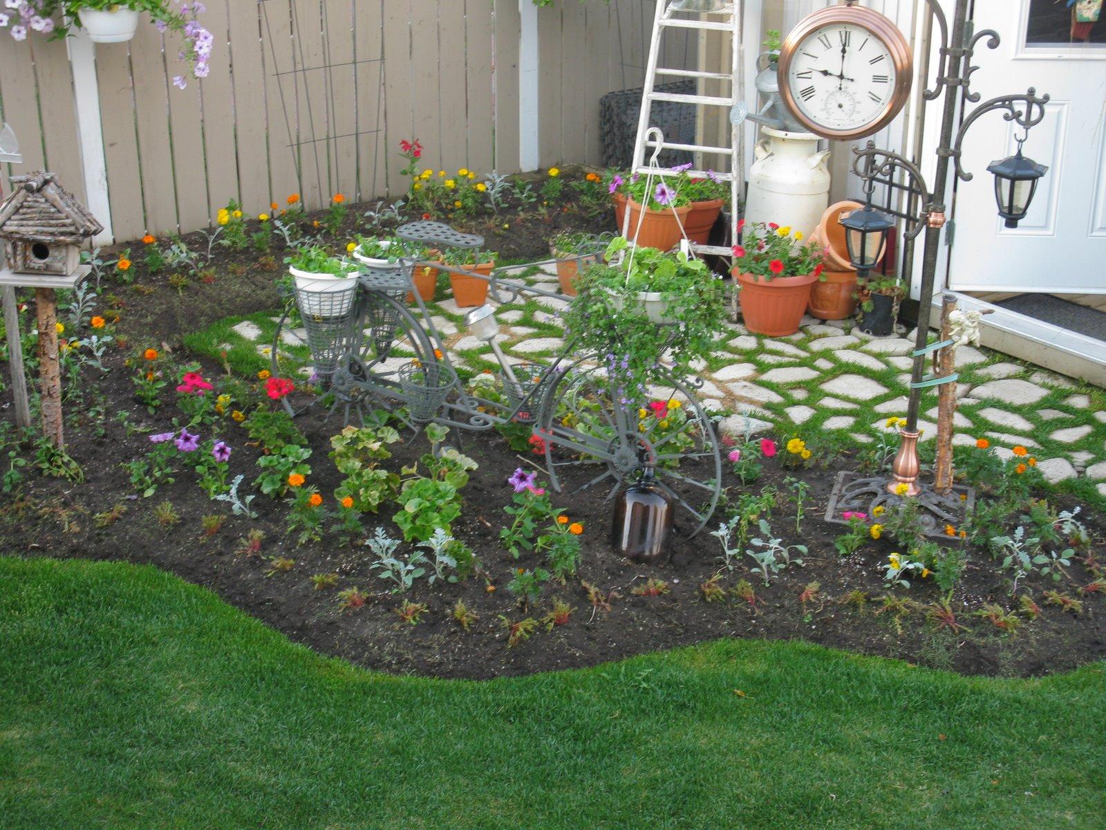 Сад и огород дизайн своими руками интересные
